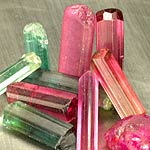 Rough Tourmaline Crystals