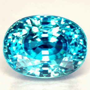 Fine Blue Zircon from Cambodia