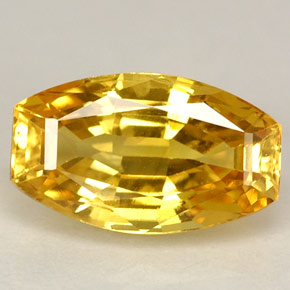Yellow Sapphire from Thailand