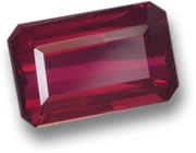 1.5-Ct, Octagonal Step-Cut Ruby