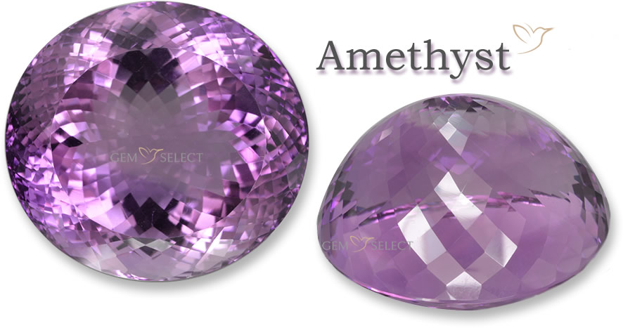 Large Photo of an Amethyst Gemstone