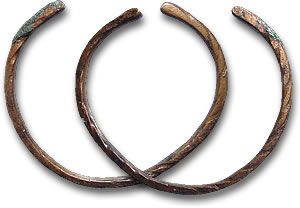 Ancient Roman Bronze Bracelets