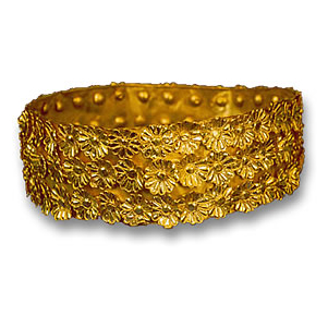 Gold Crown from the Treasure of Nimrud