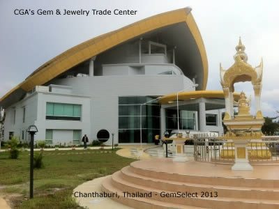 Chanthaburi's Gem & Jewelry Trade Center