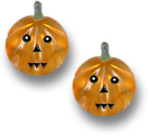 Gemstone Jack-O'-Lanterns