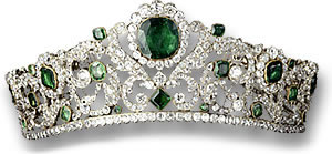 Duchess of Angoulême's Emerald Tiara