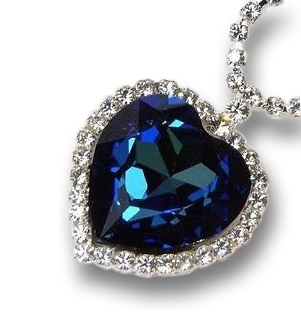 The heart of the ocean sapphire necklace will go on aloadofball Image collections