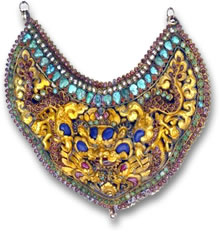 Himalayan Gemstone Breastplate