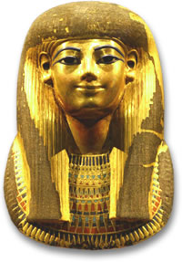 Mask of Thuya, Great-Grandmother of King Tut
