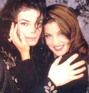 Michael Jackson and Lisa Marie Presley Engagement