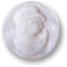 White Mother of Pearl Gemstone