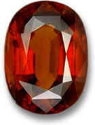 22.77-Carat Hessonite Garnet