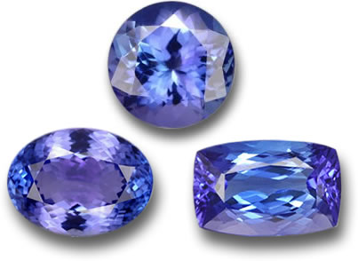 Natural Tanzanite Gems