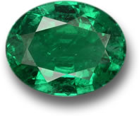 Oval Zambian Emerald Gem