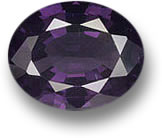 Purple Oval Spinel Gem