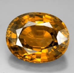 Huge Rare Golden Zircon Gemstone