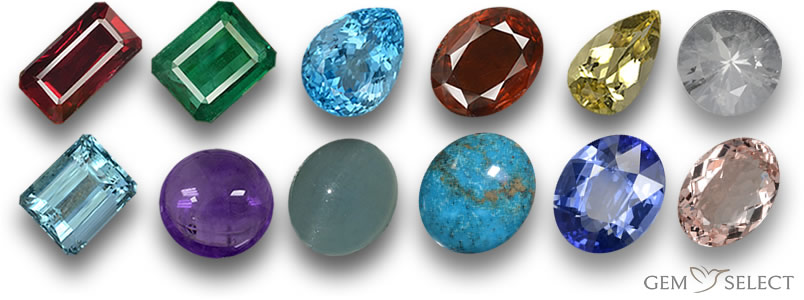 Sagittarius Gemstones from GemSelect - Large Image