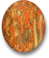 Scottish Jasper Cabochon