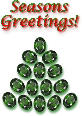 Chrome Diopside Tree