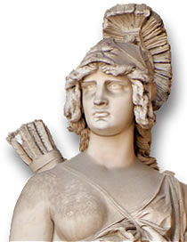Statue of Penthesilea, Queen of the Amazons