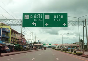 The Road to Bo Rai in Trat