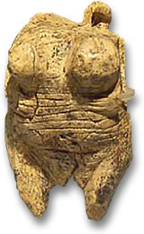 Venus of Hohle Fels Carved from Mammoth Tusk