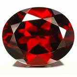 Click to enlarge - Almandine garnet from GemSelect