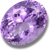 Internally Flawless Amethyst Gem