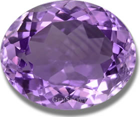 Color Zoned Amethyst