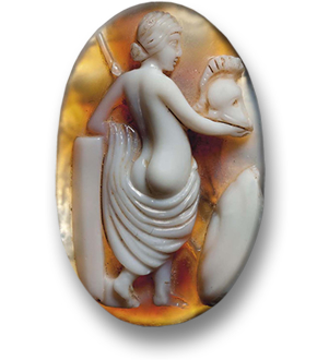 Ancient Roman Agate Cameo of Venus - Goddess of Love