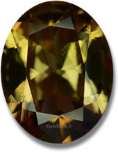 Natural Axinite Gemstone