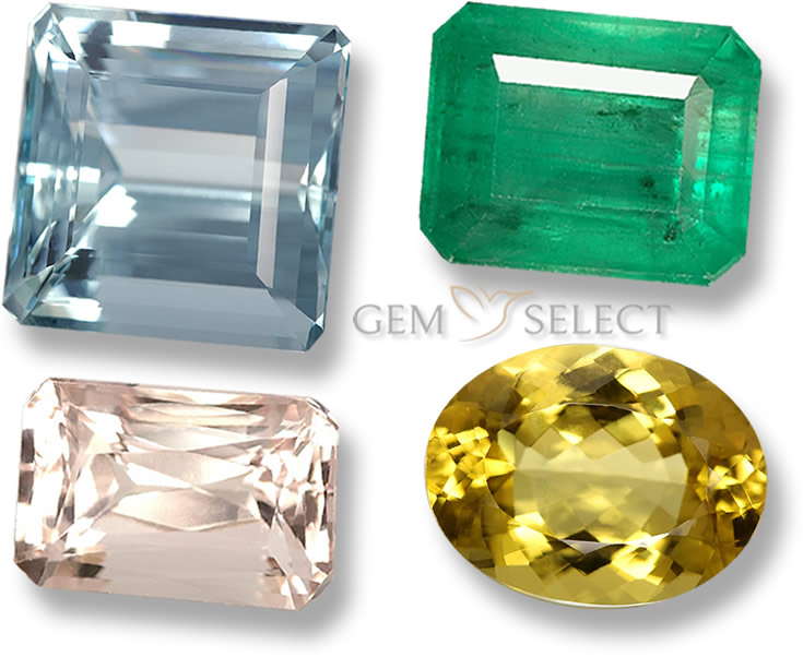 Beryl Gemstones from GemSelect - Large Image