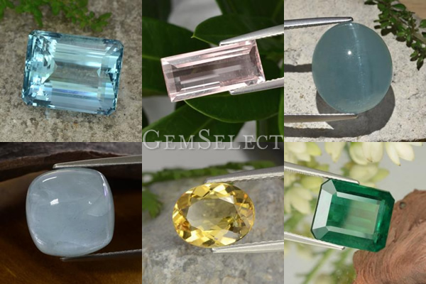 Beryl Gemstones