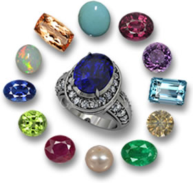 Birthstones and Sapphire Birthstone Ring