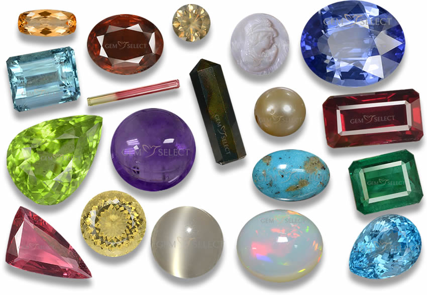 Birthstones By Month Zodiac And Anniversary Stones