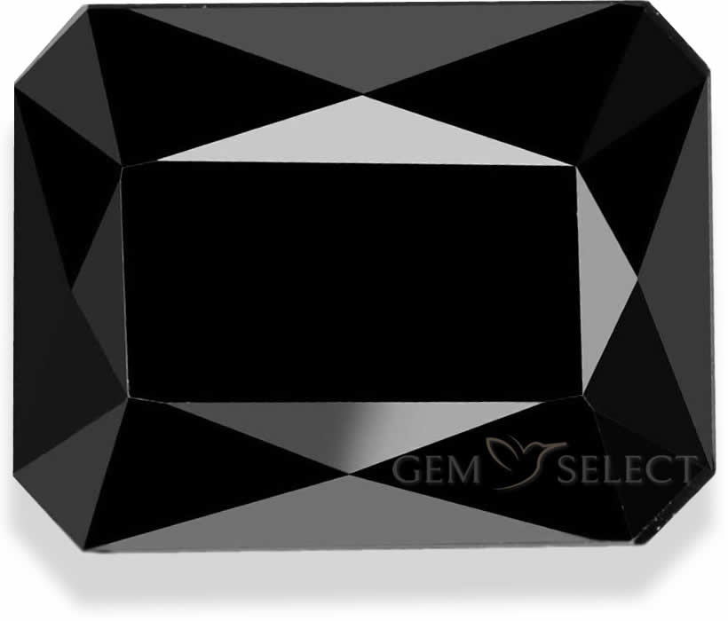 One Black Tourmailine Gemstone from GemSelect