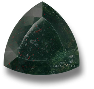 Multicolor bloodstone gemstone