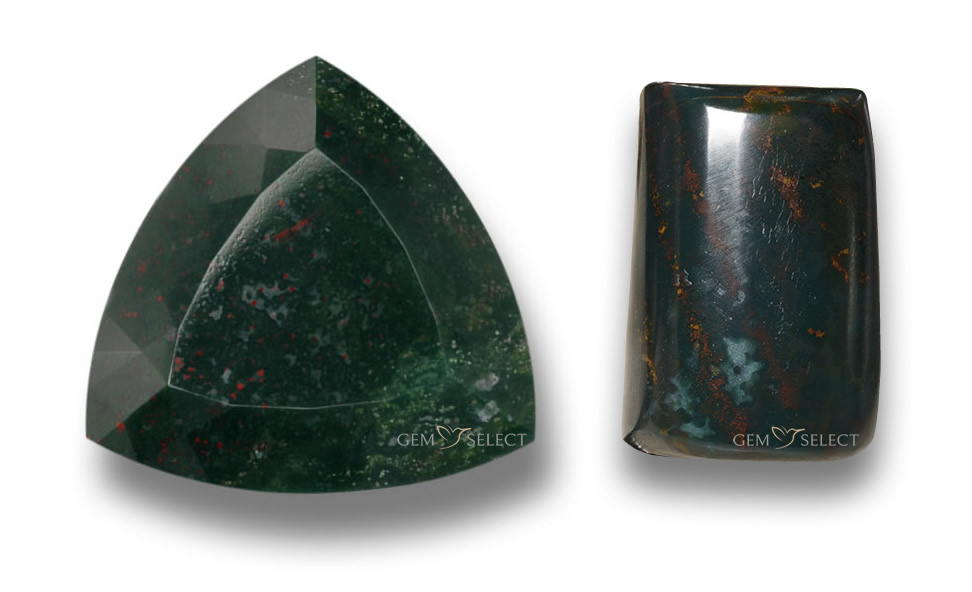 Bloodstone Gemstones from GemSelect - Large Image