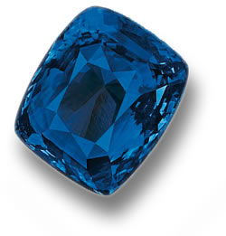 The Blue Belle of Asia Sapphire