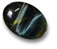 Blue Hawk's Eye Quartz Gemstone