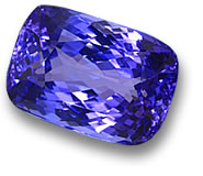 Blue Tanzanite Gemstone