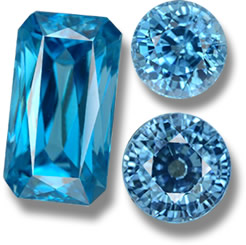 Blue Zircon from GemSelect - Small Image