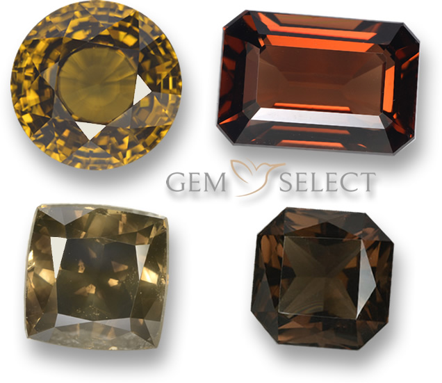 Brown Gemstone Info: List of Brown Precious Gems for Jewelry
