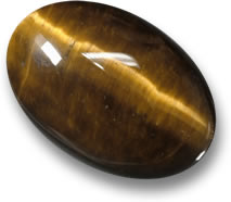 Brown Tiger's Eye Gemstone