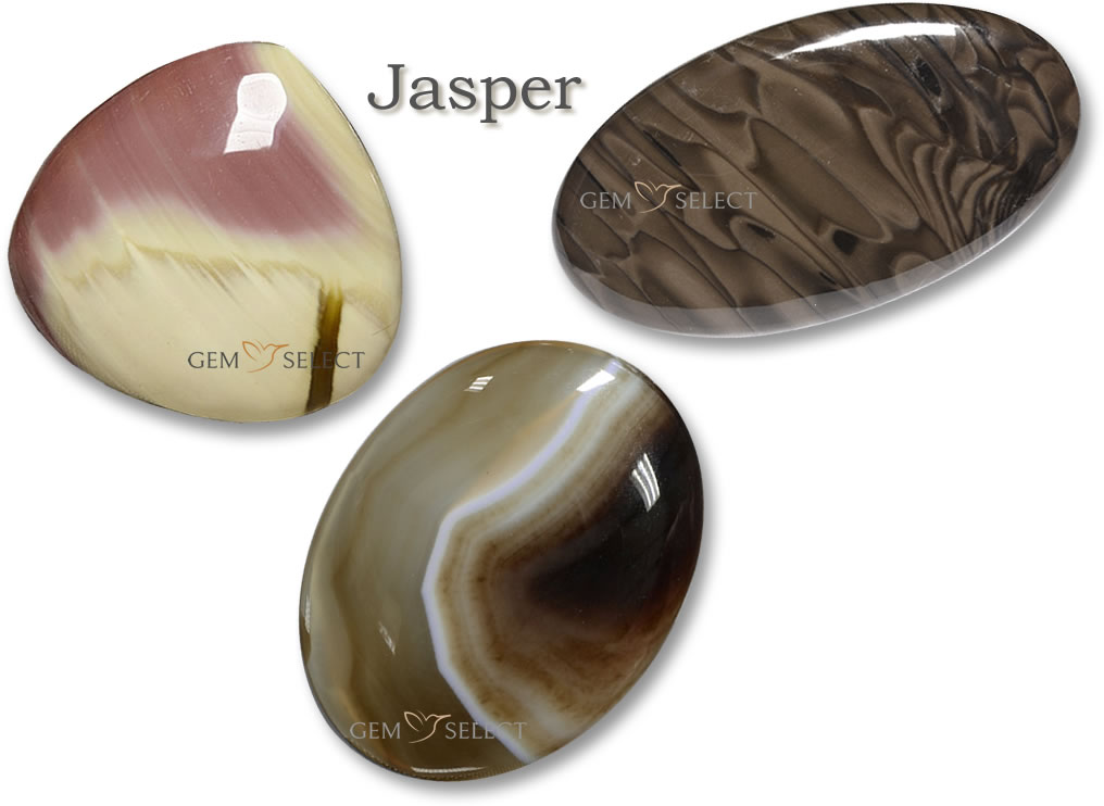 Buy Jasper Gemstones for Aries from GemSelect - Large Image