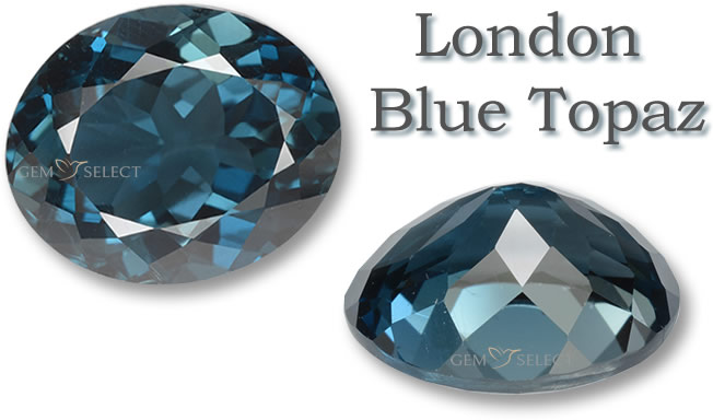 A London Blue Topaz Gemstone for Aries from GemSelect - Large Image