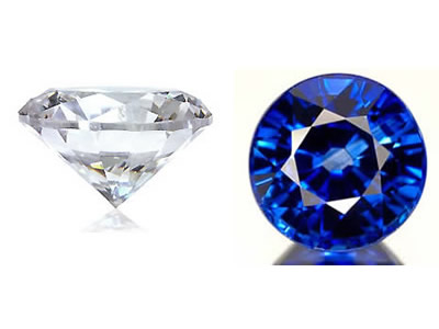 Calibrated Diamond and Sapphire
