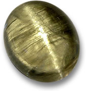 Cat's Eye Diaspore Gemstone