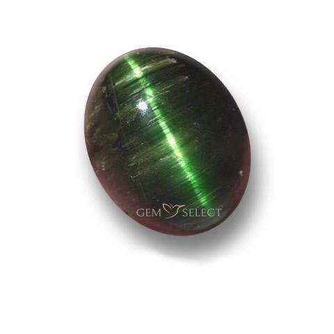 Large Image of a Cat's Eye Tourmaline Gemstone