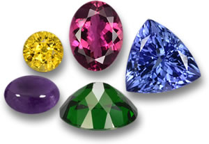 Loose Colored Gemstones for Jewelry